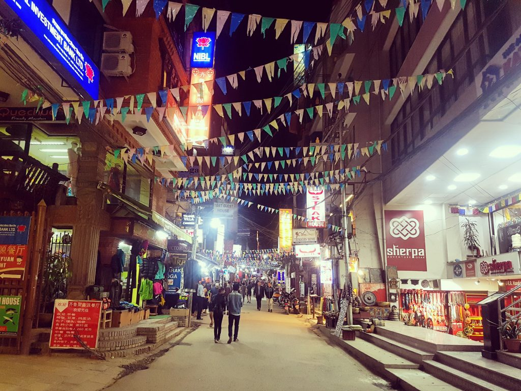 Thamel by night
