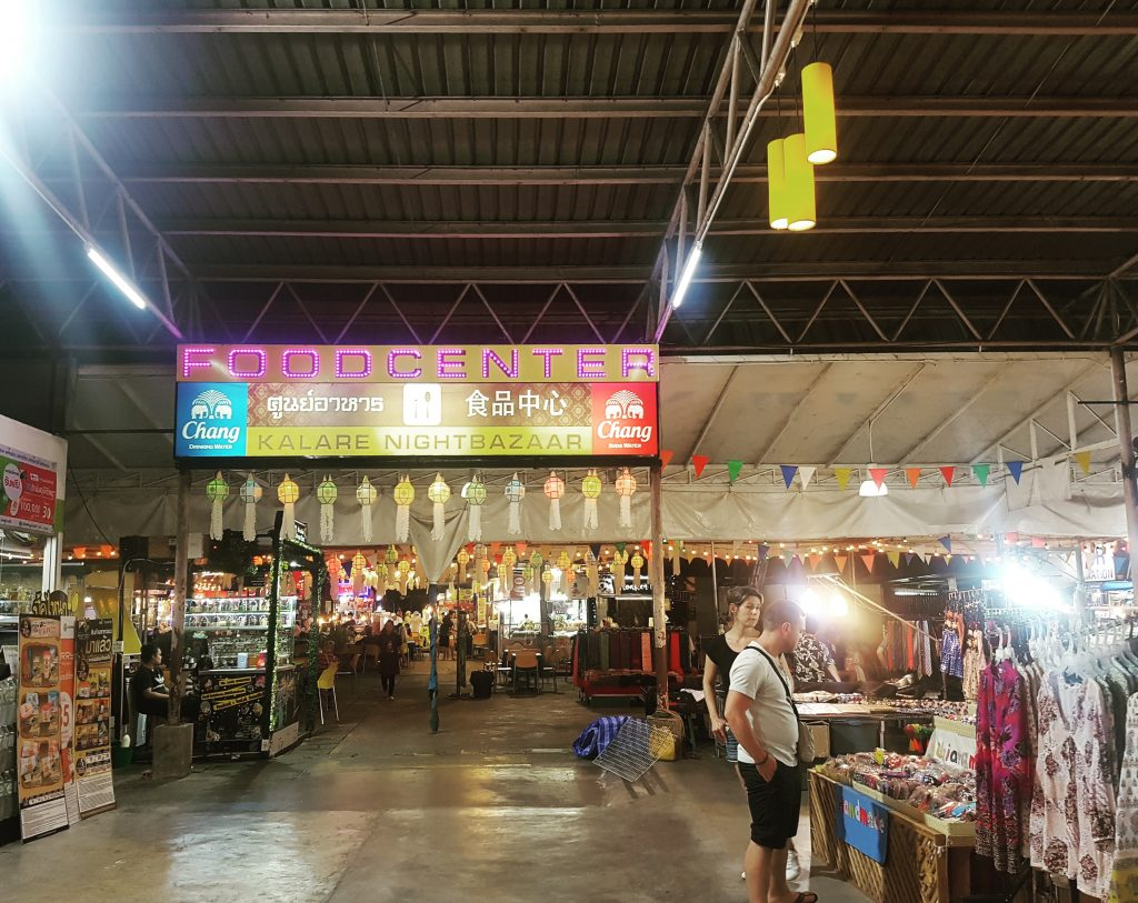 Street Food la Kalare Night Bazaar