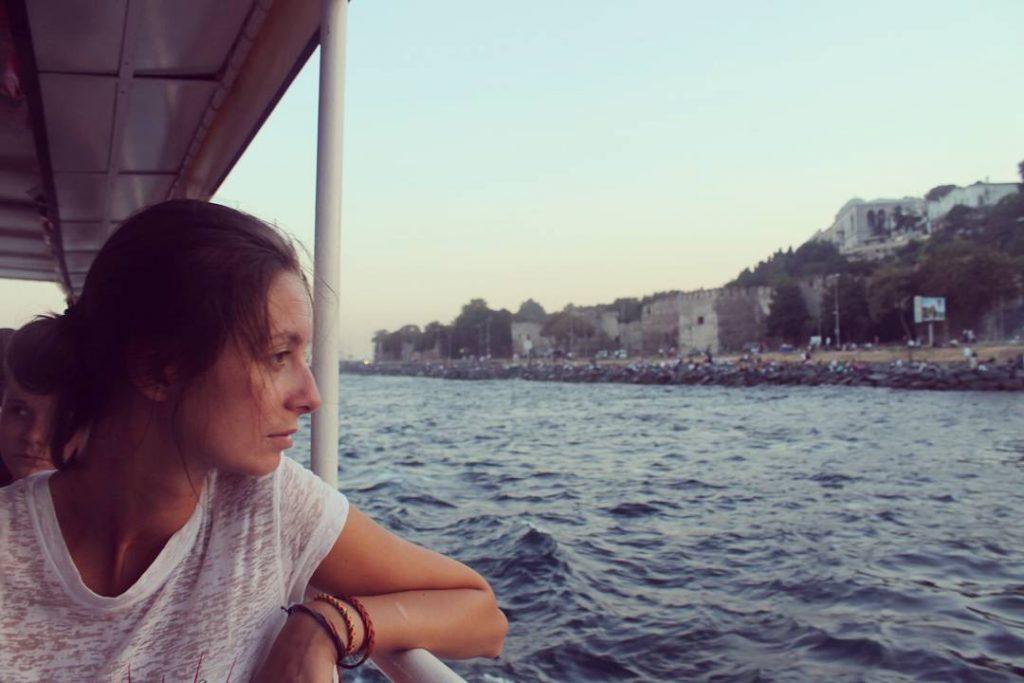 Cu barca pe Bosfor