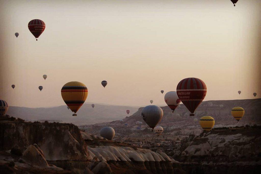 Baloane deasupra Cappadociei