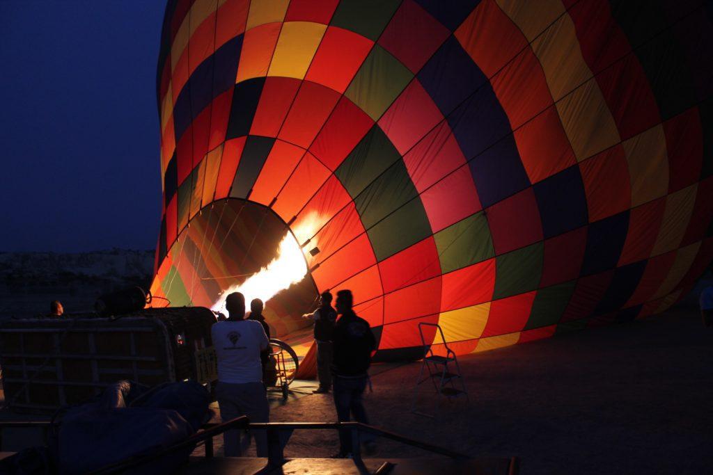 Balon cu aer cald în Cappadocia
