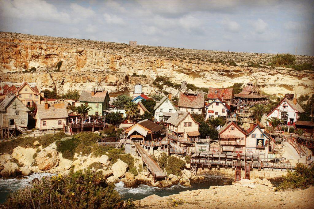 Popeye Village - platoul de filmare al filmului produs în 1980.