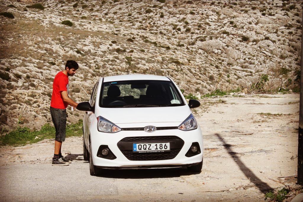 Mașina închiriată în Malta