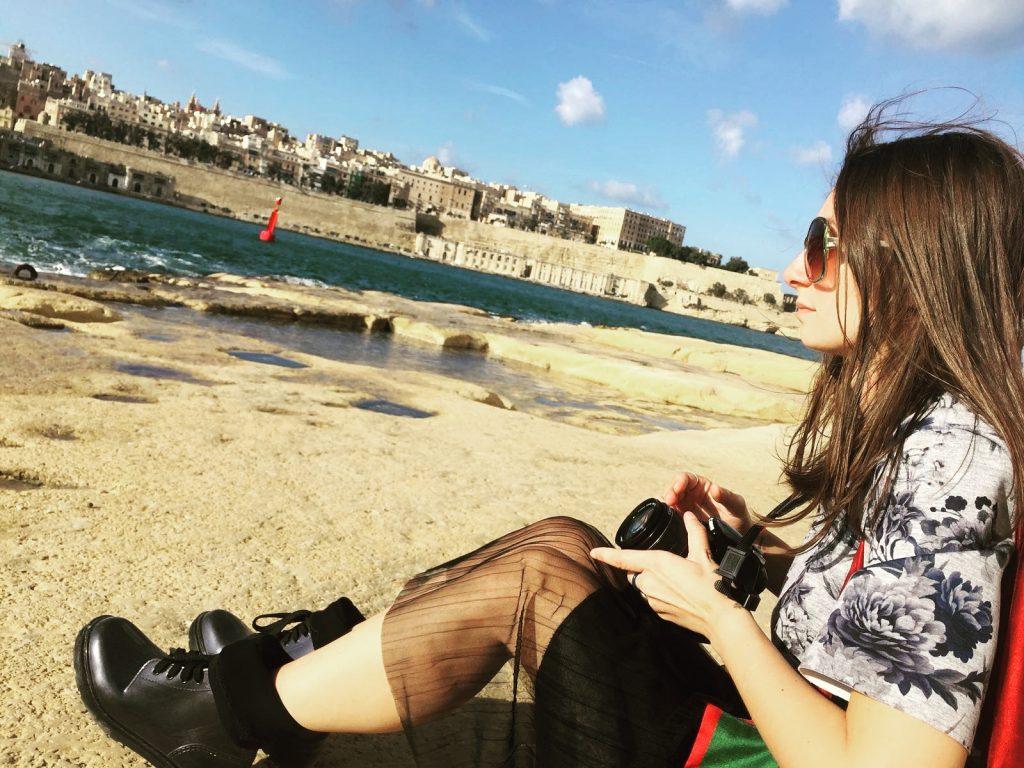 Valletta văzută din Vittoriosa