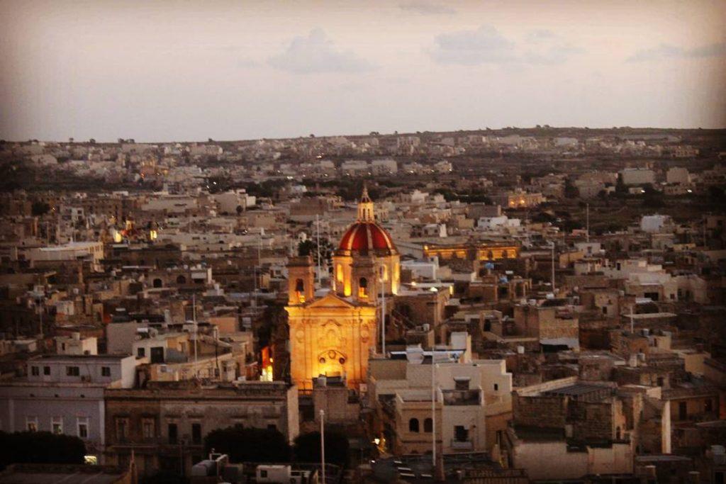 Victoria (Rabat) văzută din Il-Kastell
