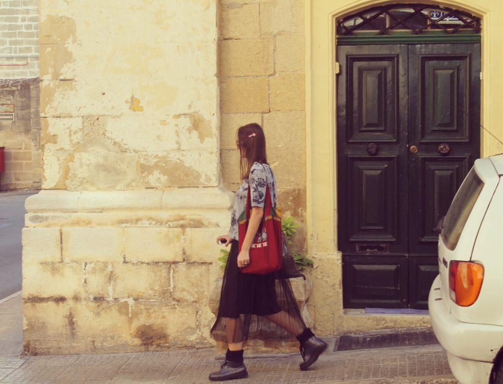 Pe străzile din Valletta