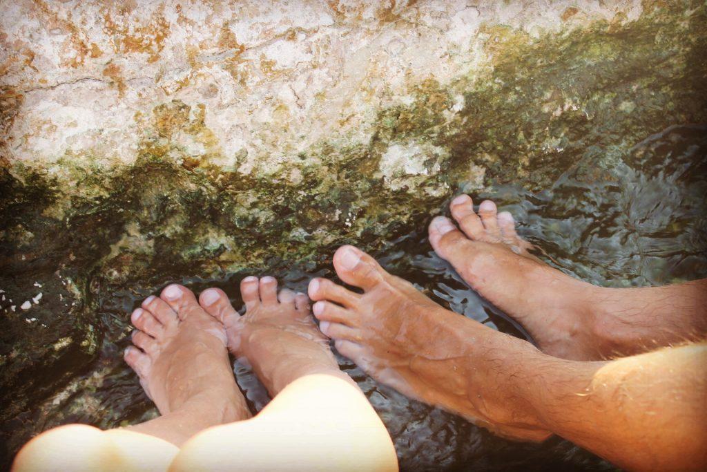 Fară papuci la Pamukkale