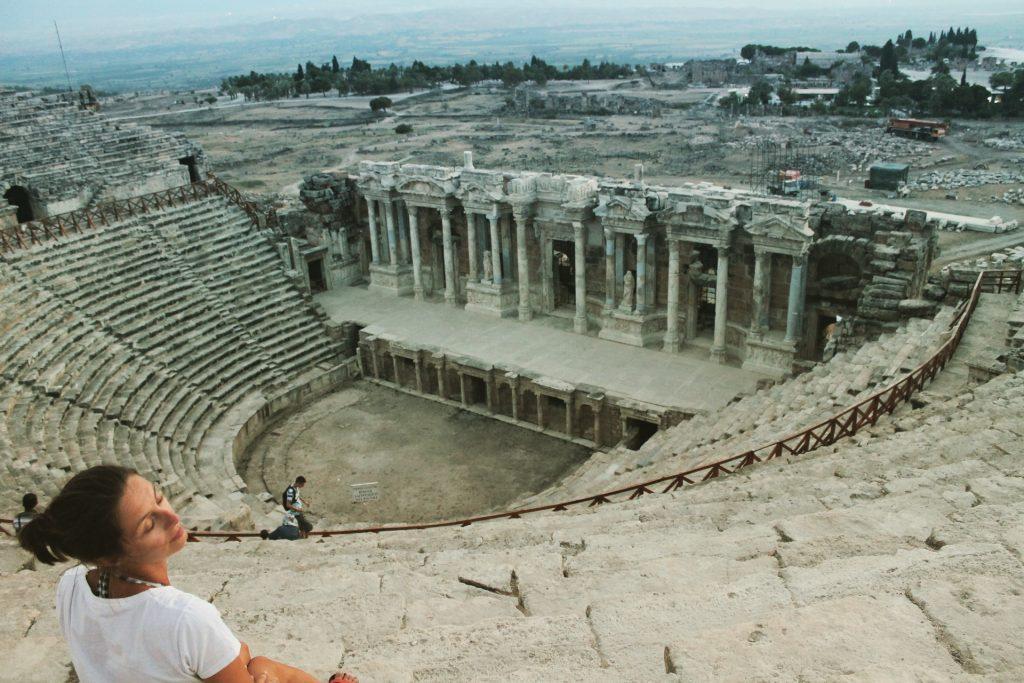 Teatrul roman de la Pamukkale