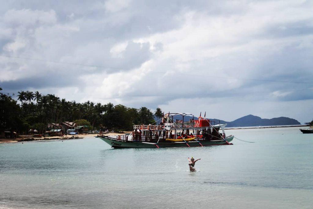 Plaja Las Cabanas, numită așa după resort-ul din apropiere