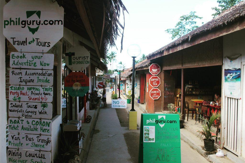 Strada preferată din Corong Corong