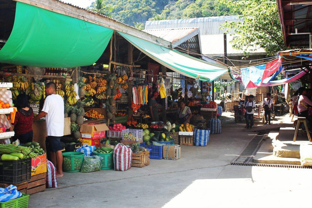 Piața din El Nido