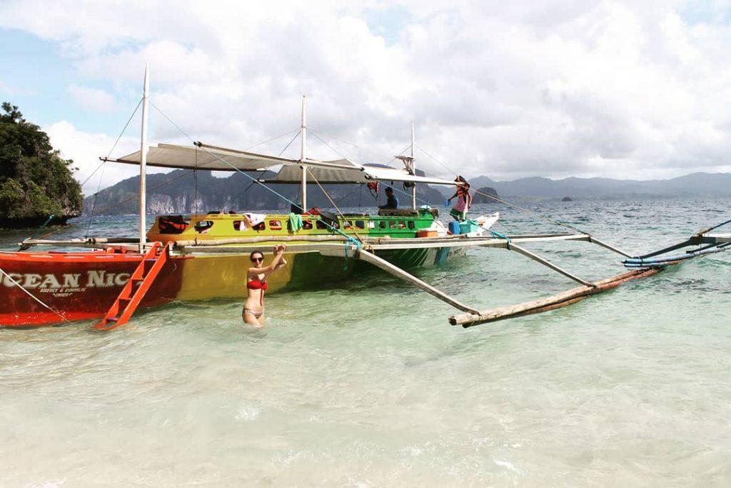 În al doilea tur am avut o barcă colorată