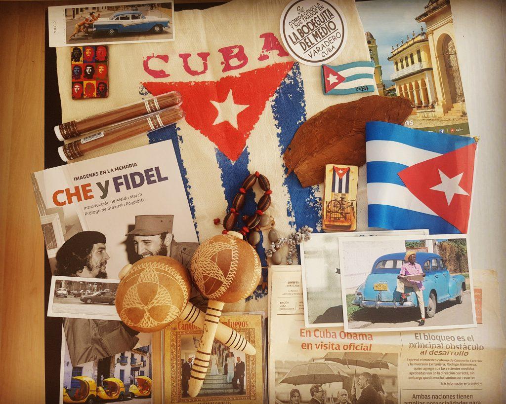 O parte din lucrurile cumpărate din Cuba