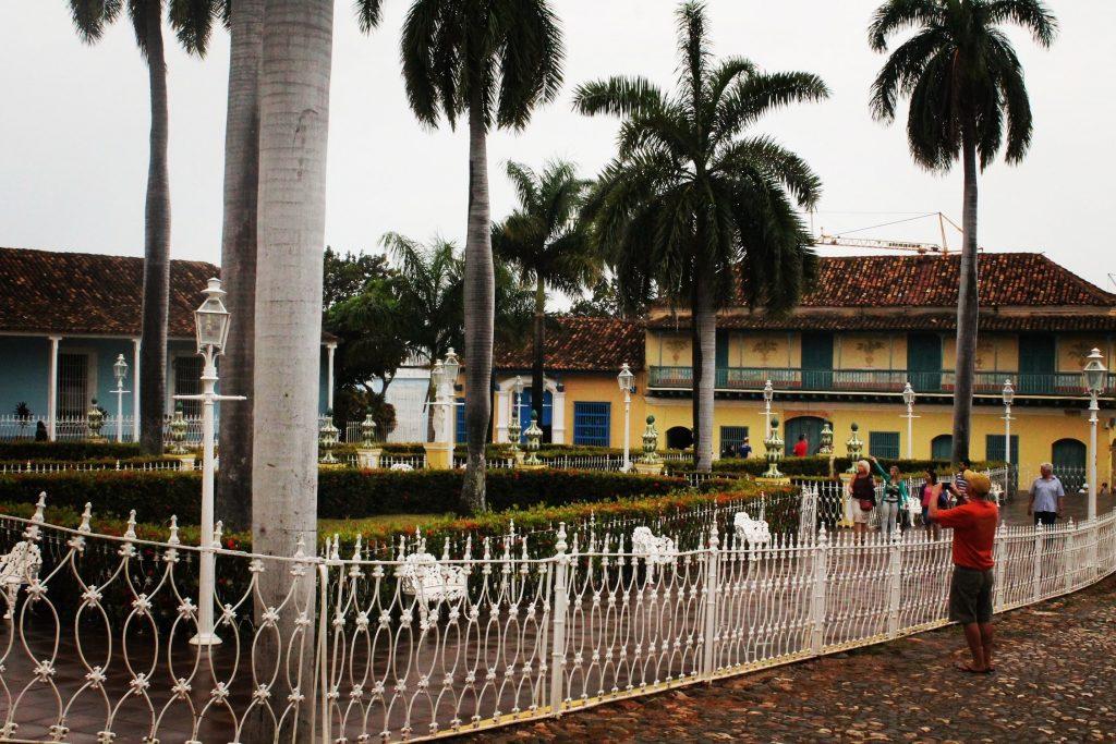 Plaza Mayor, pe ploaie