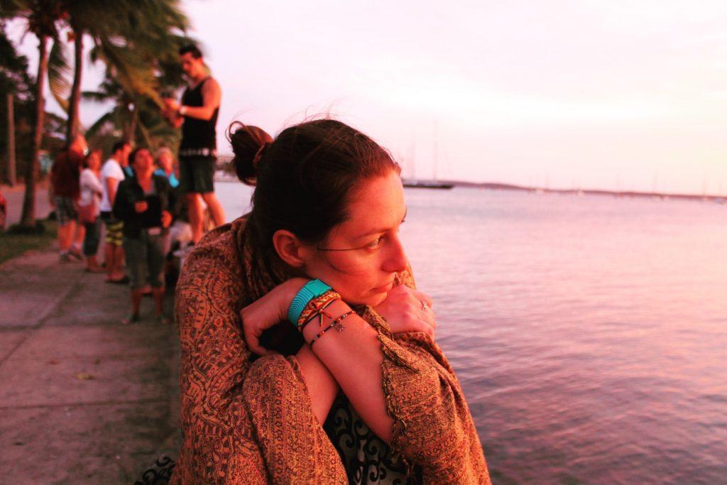 Apus pe malecon, în Cienfuegos