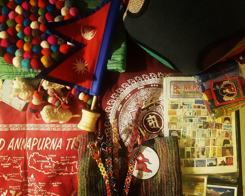 Câteva dintre lucrurile cumpărate din Nepal