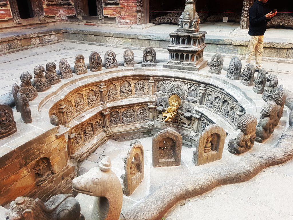 Curte interioară, Durbar Square, Patan