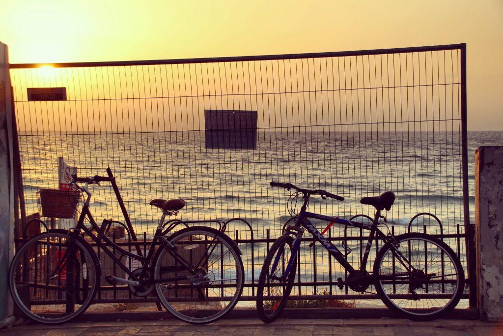 Tel Aviv la apus