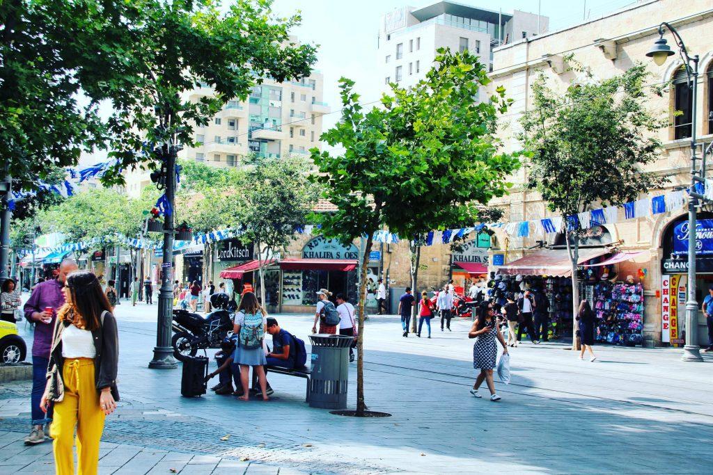Ierusalim, centru