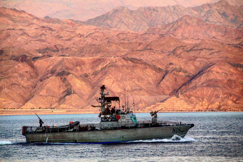 Vas militar pe Marea Roșie