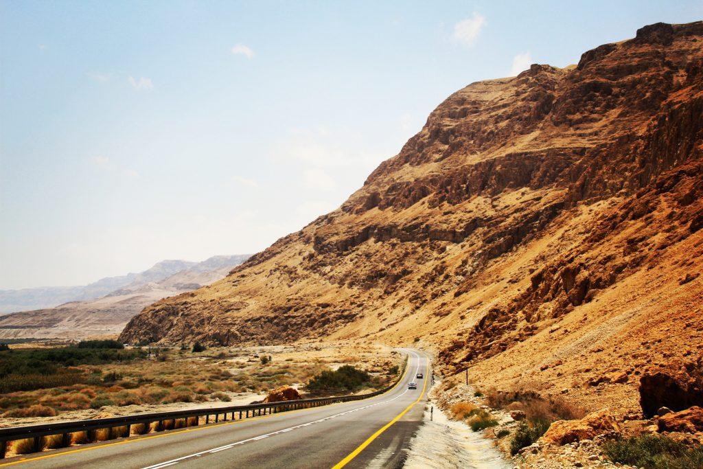 Deșertul Iudeei, direcția Marea Moartă