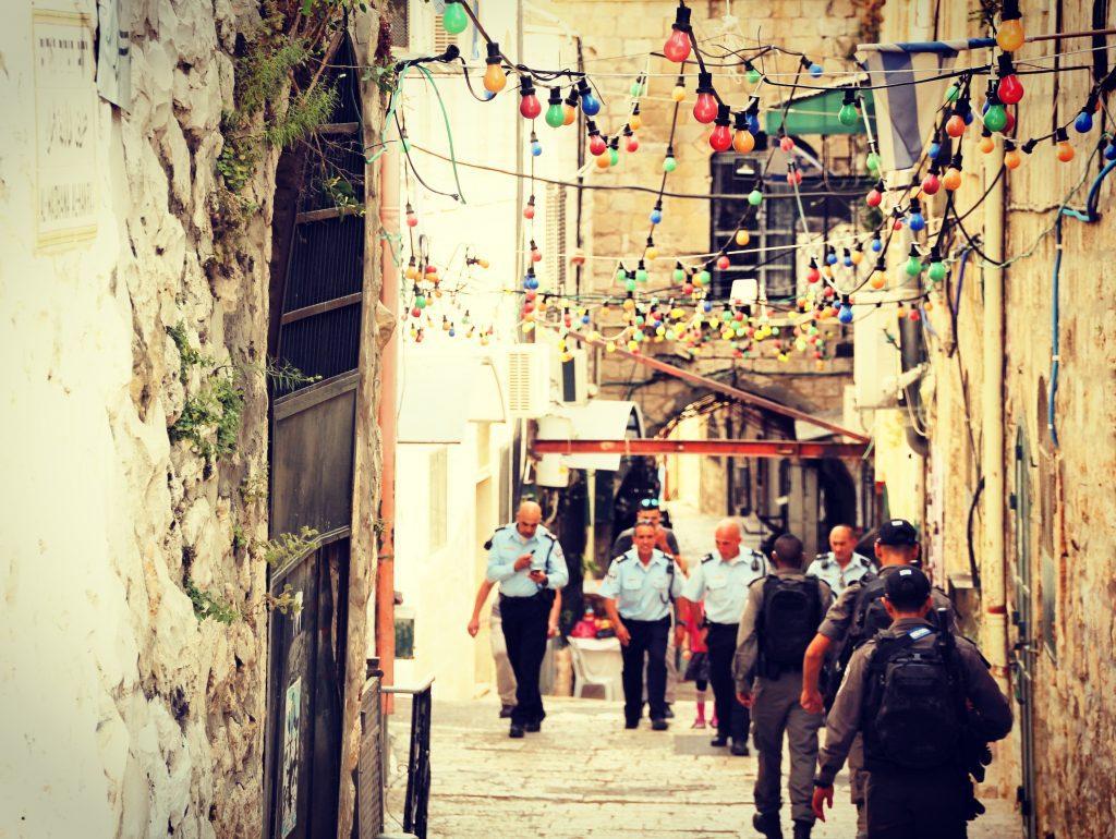 Srăzile stramte ale Ierusalimului vechi