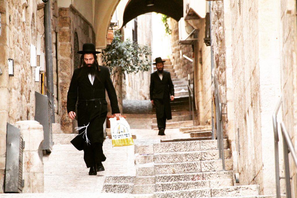 Evreii Haredim pe străzile din Ierusalim, Old City