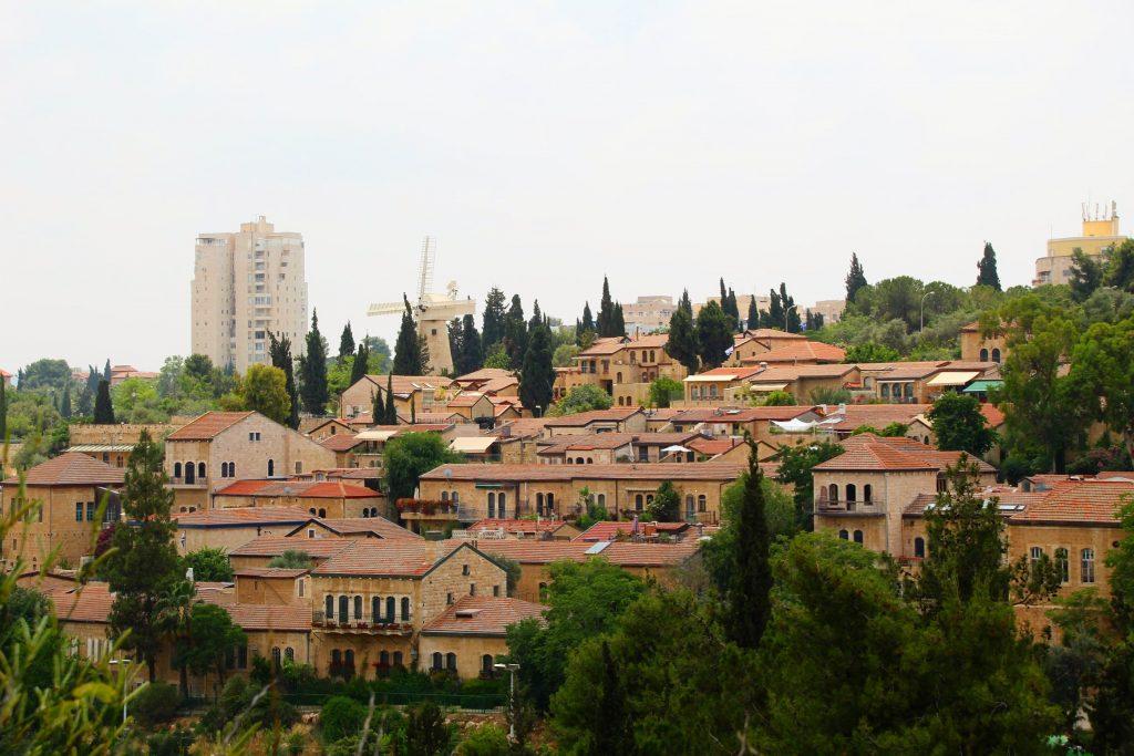 Un alt cartier celebru - Yemin Moshe
