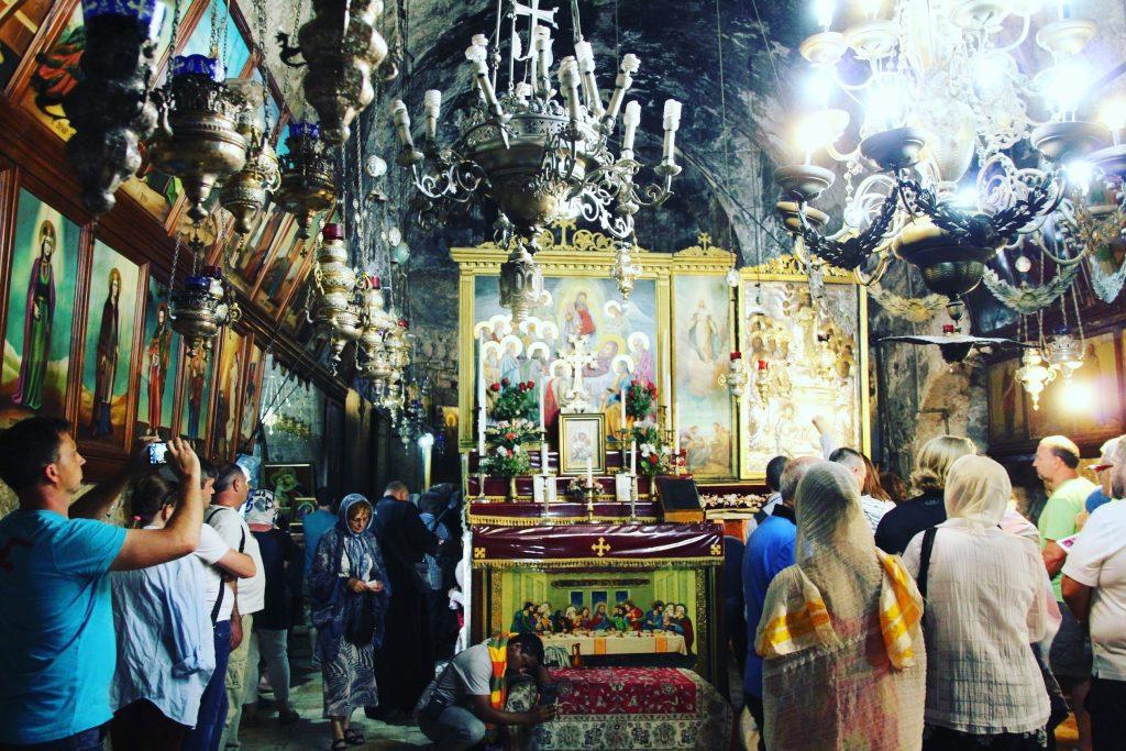 Mormântul Fecioarei Maria.