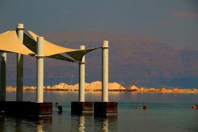 Munți de sare din Marea Moartă