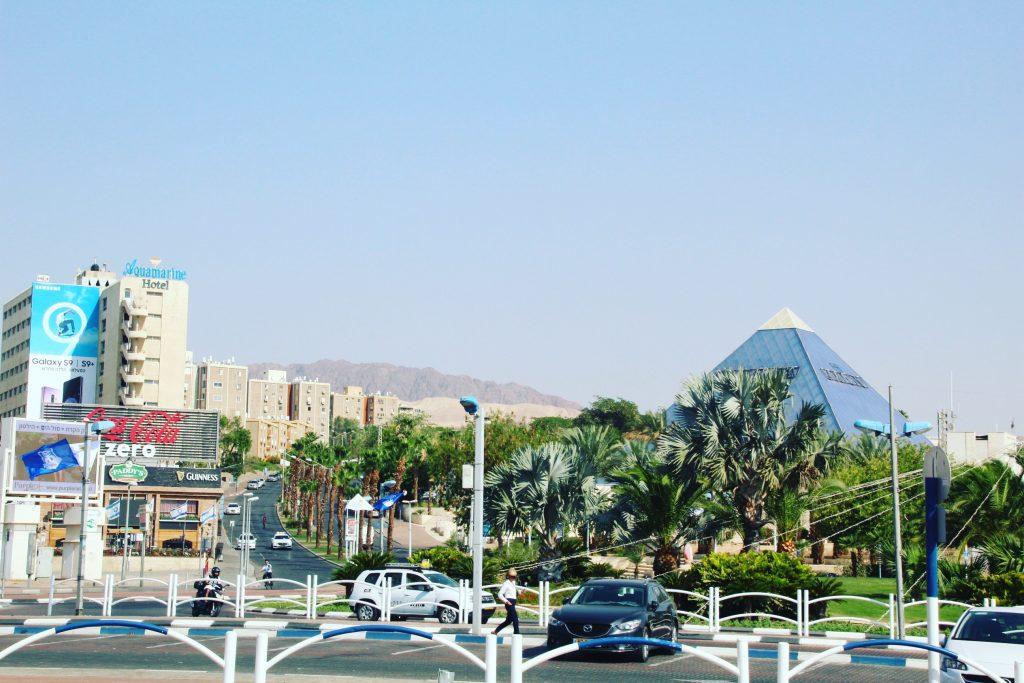 Partea aerisită din Eilat