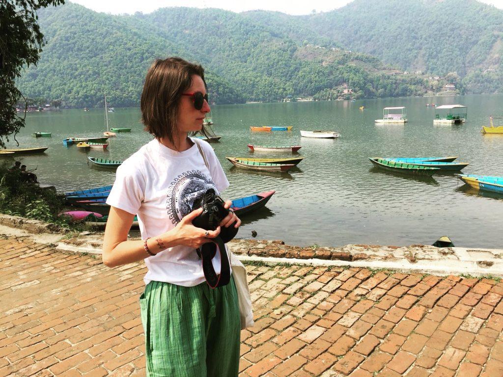 Când încă mai aveam aparatul, lângă Phewa Lake