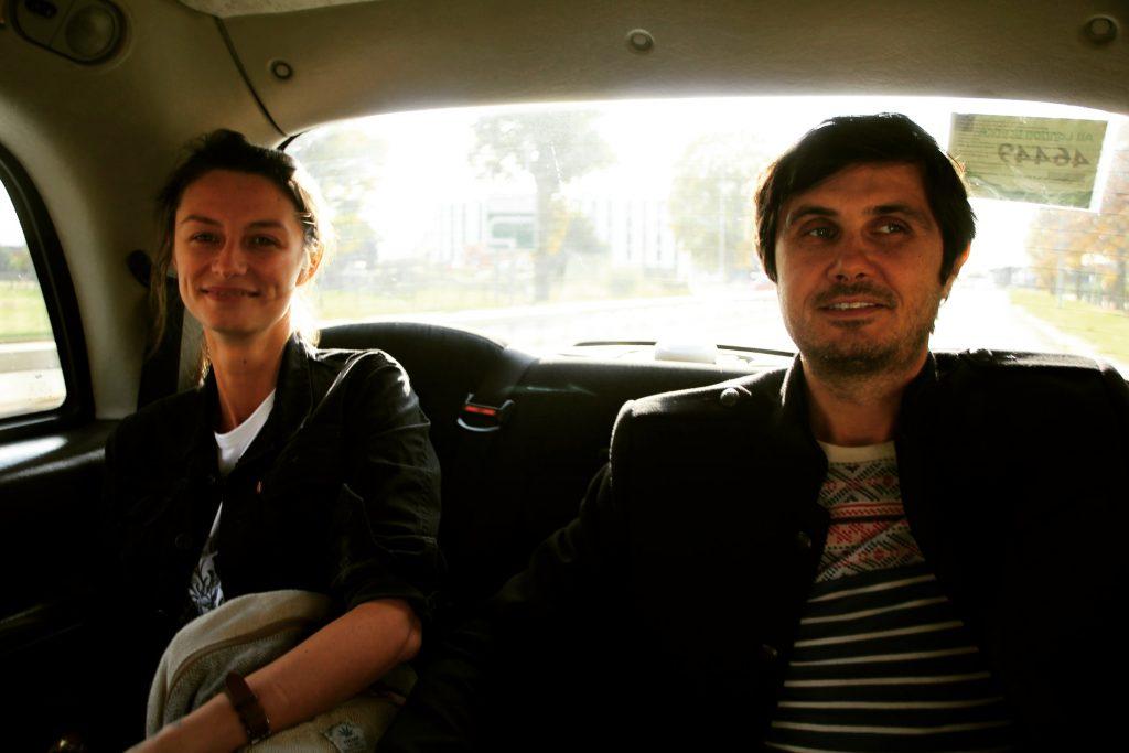 În taxi, Londra