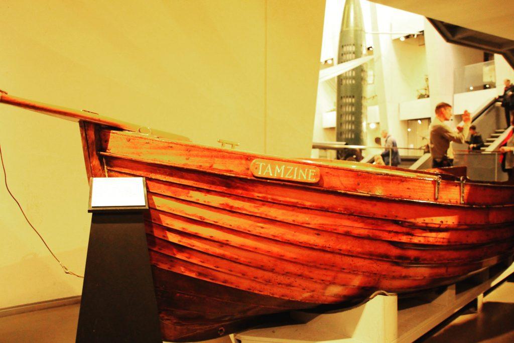 Tenazin este cea mai mică barcă a civililor care a transportat soldații de la Dunkirk.
