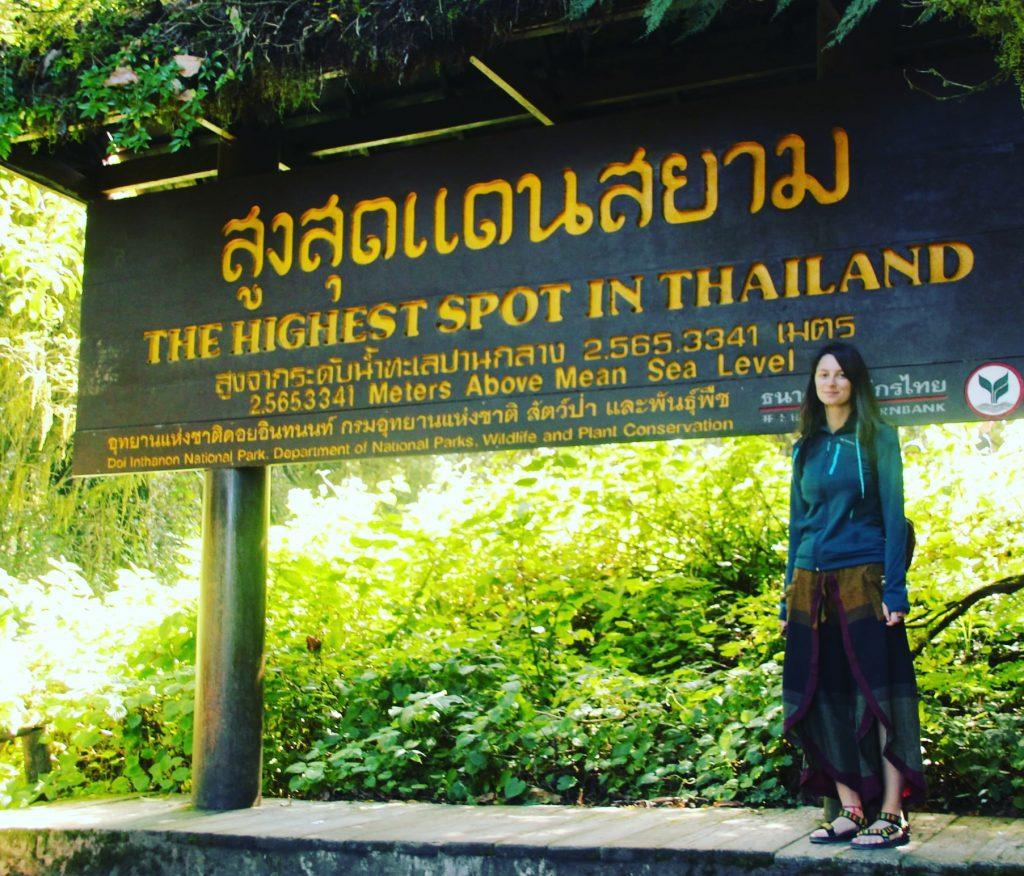 2 565 m este cea mai mare altitudine a Thailandei