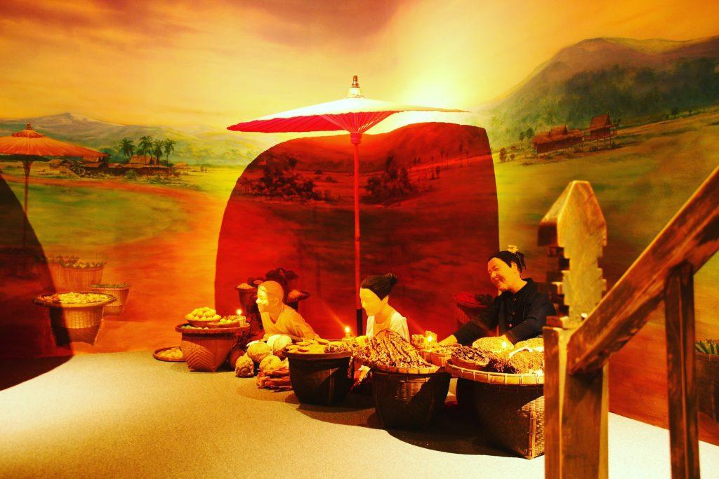 Dioramă la Muzeul Lana Folklife