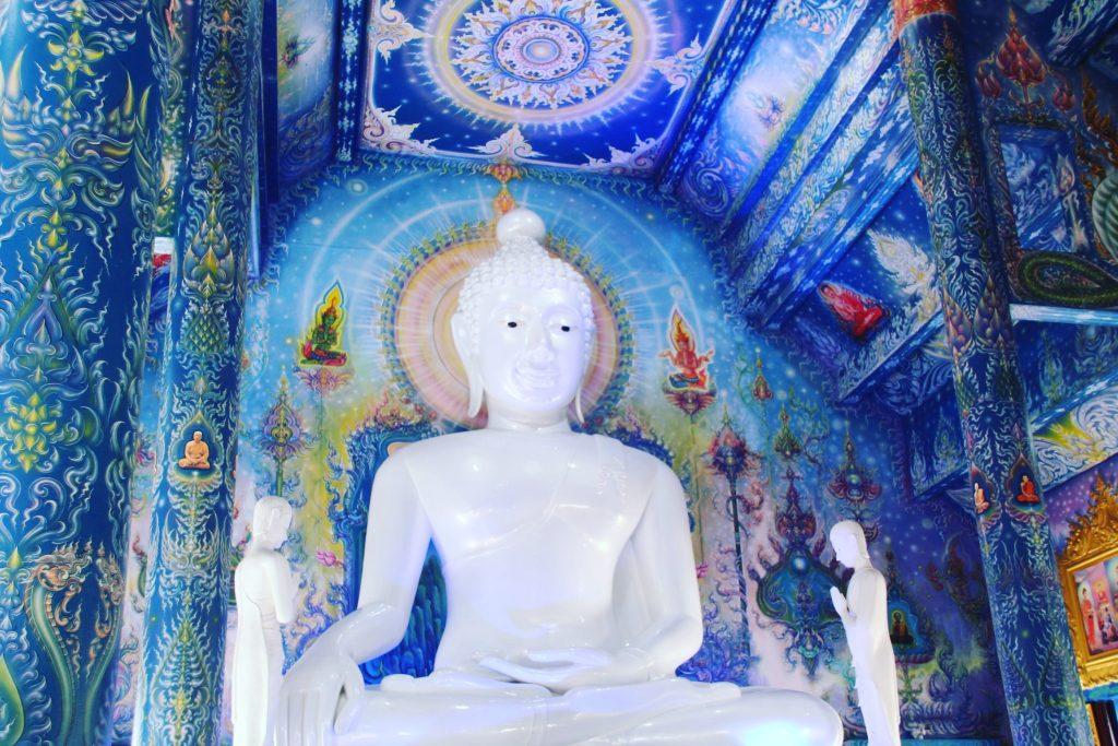 În interiorul Templului Albastru