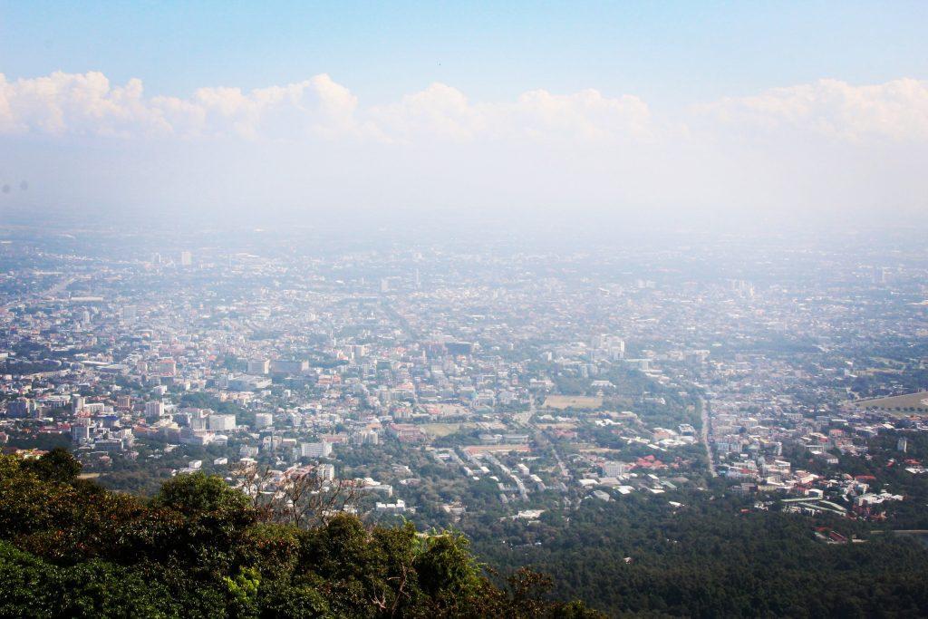 Chiang Mai, văzut de la Doi Suthep