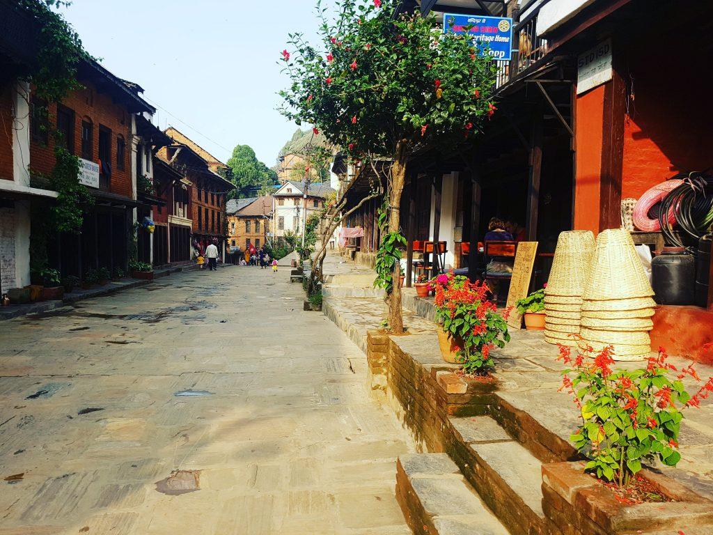 Strada principală din Bandipur