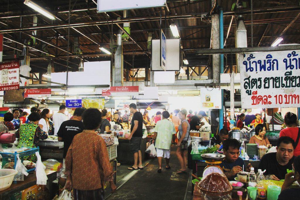 La piață