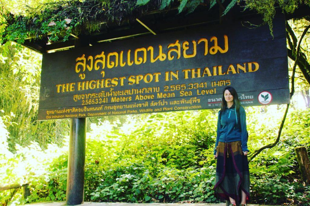 Cam frig la cel mai înalt punct din Thailanda