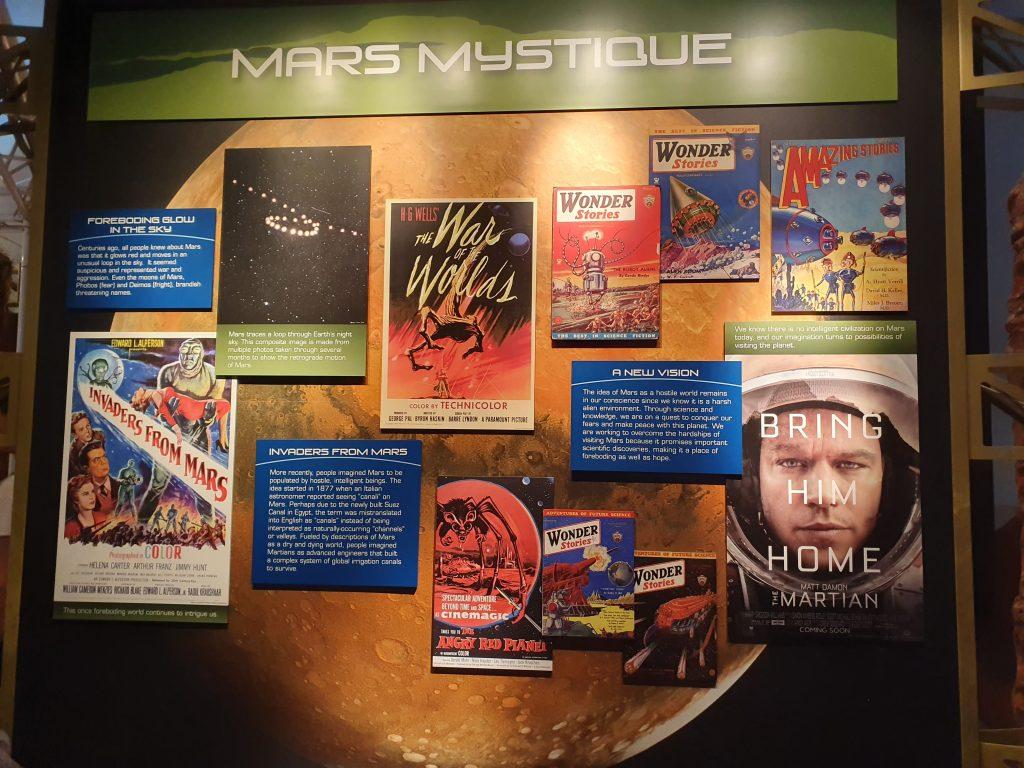 Producțiile și materialele dedicate planetei Marte nu o prezintă ca fiind cea mai prietenoasă.