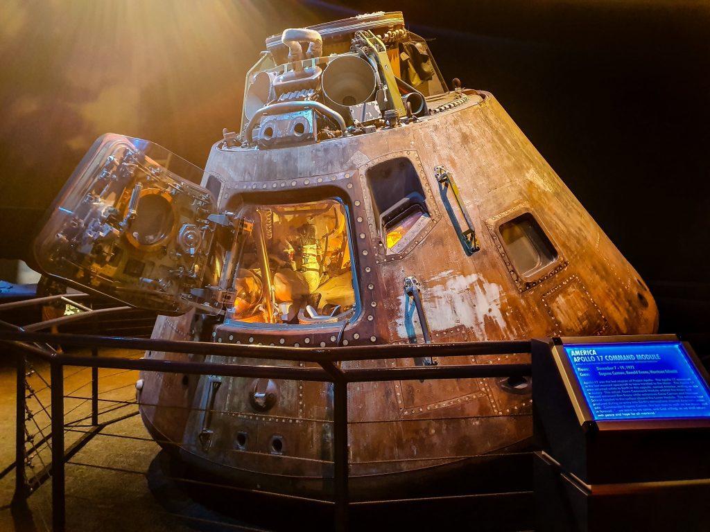 Capsula din Apollo 17