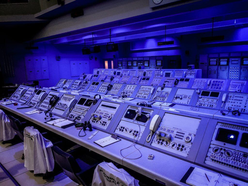 Camera de control pentru Apollo 8