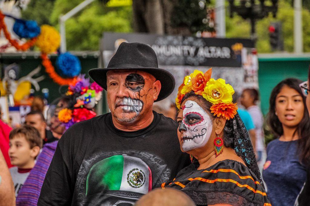 Dia de Los Muertos, în LA