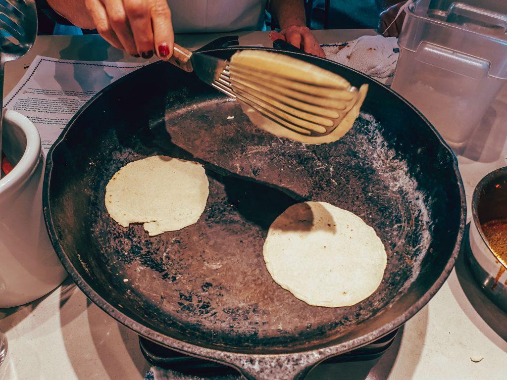 Tortillas de porumb