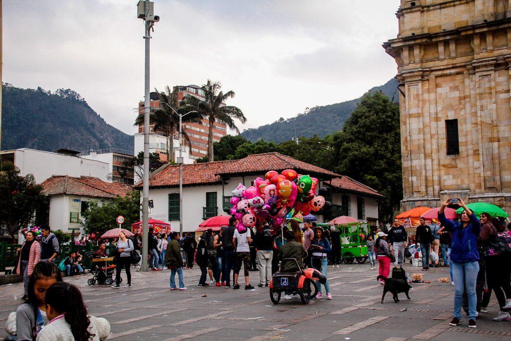 Primii pași în Bogota