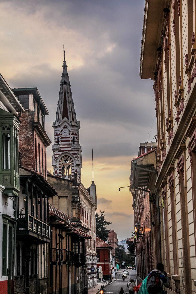 La Candelaria este plină de străduțe frumoase