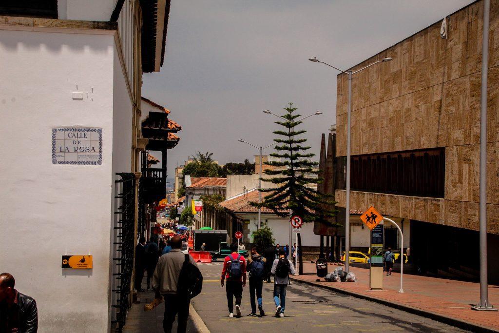 Stăzile din Bogota