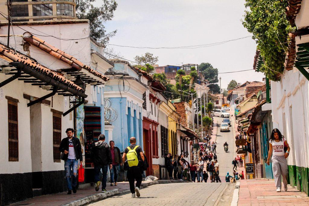 Străduțe din Bogota